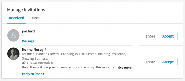 How To Reply To A Linkedin Invitation Without Accepting