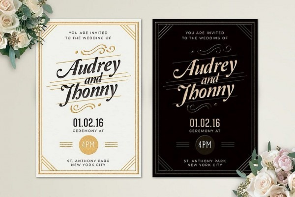 90+ Gorgeous Wedding Invitation Templates