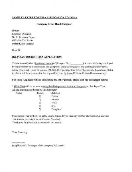 Sponsorship Letter Visa Usa New Sample Sponsorship Letter For