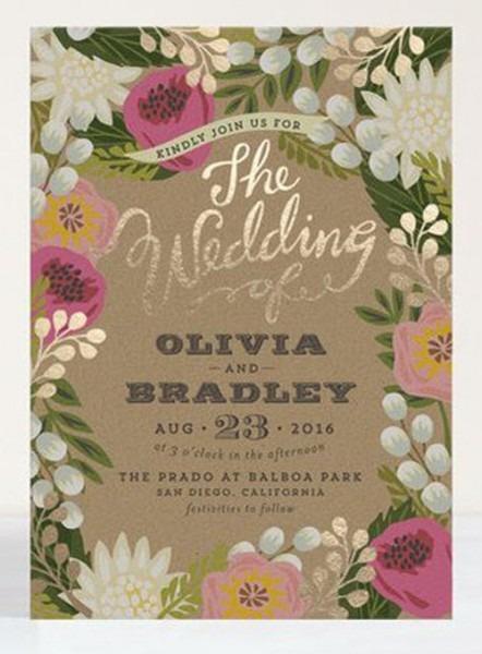 Spring Wedding Invitations Spring Wedding Invitations Pretty