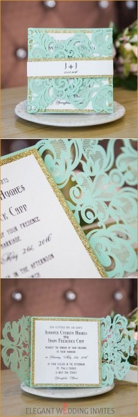 Best Of Tiffany And Co Inspired Wedding Invitations