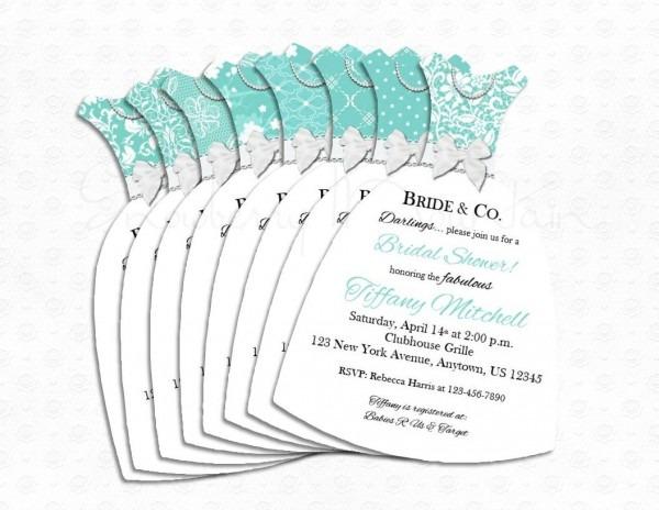 Tiffany & Co Wedding Invitations Bridal Shower Tiffany Co