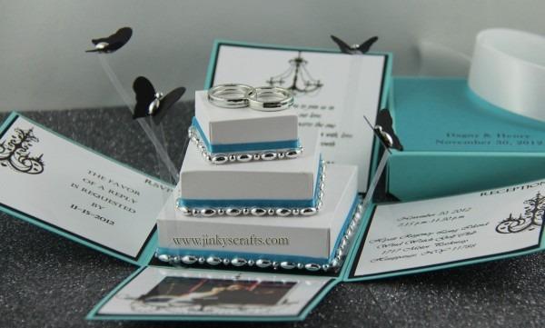 Jinky's Crafts & Designs  Tiffany Inspired Invitation Box