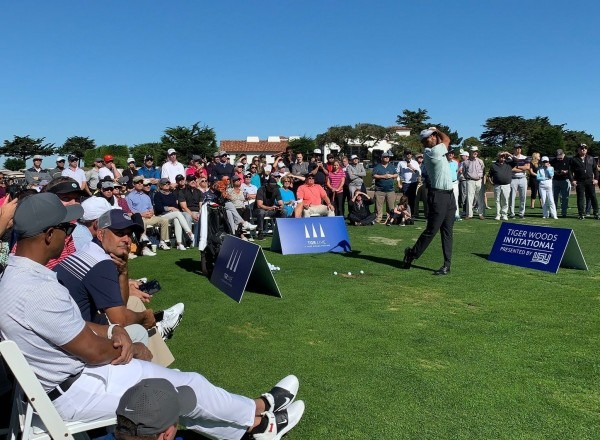 Woods Exhibition Headlined Day Two Of The Tiger Woods Invitational