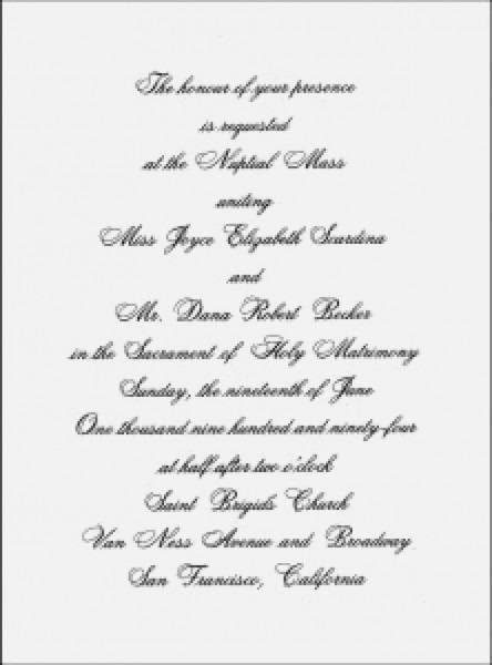 Traditional Wedding Invitation Wording Unique Wedding Invitation