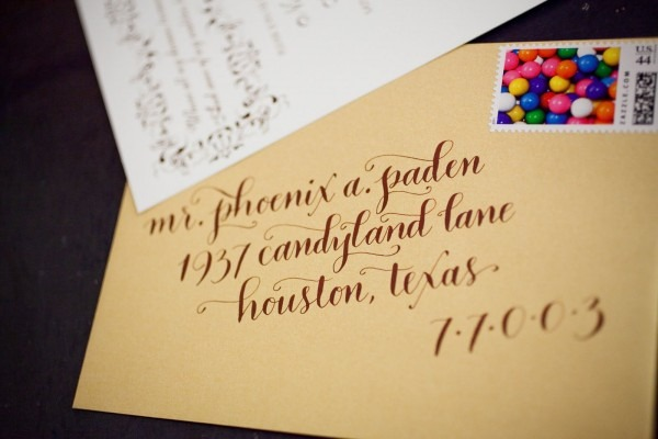 Willy Wonka Wedding Invitations