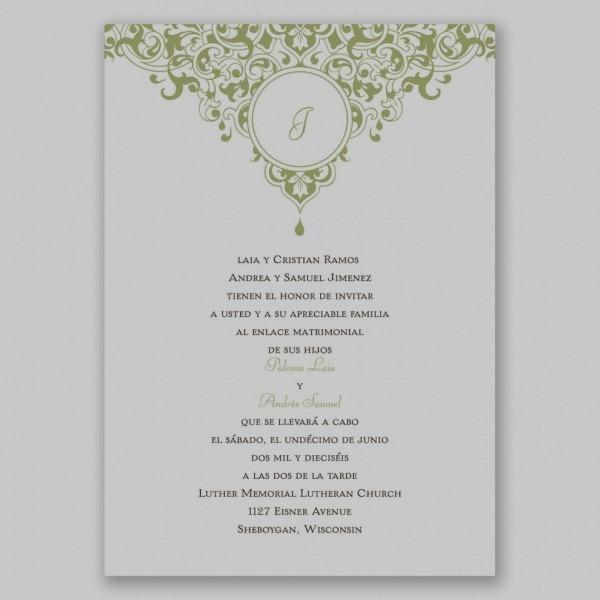 Unique Of Wedding Invitations In Spanish Invitation Verbiage Fresh