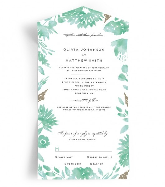 The Most Inexpensive And Efficient Wedding Invitations Ever
