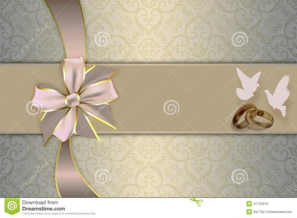 Wedding Invitation  Stock Illustration  Illustration Of Pattern