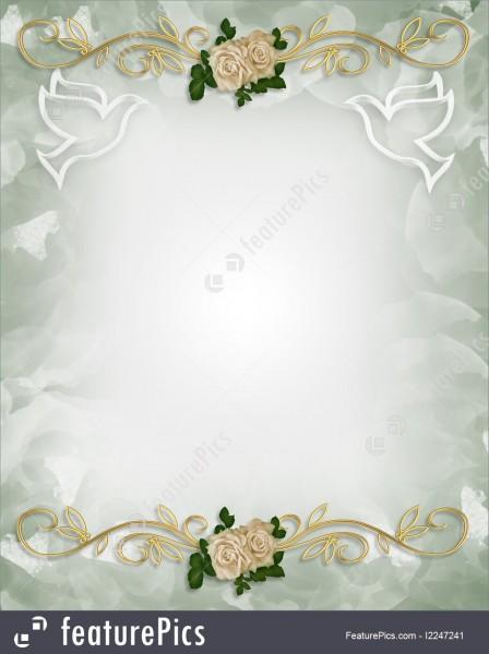 Celebration  Wedding Invitation Template Roses