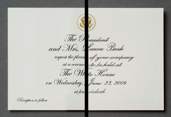 White House Calligraphy