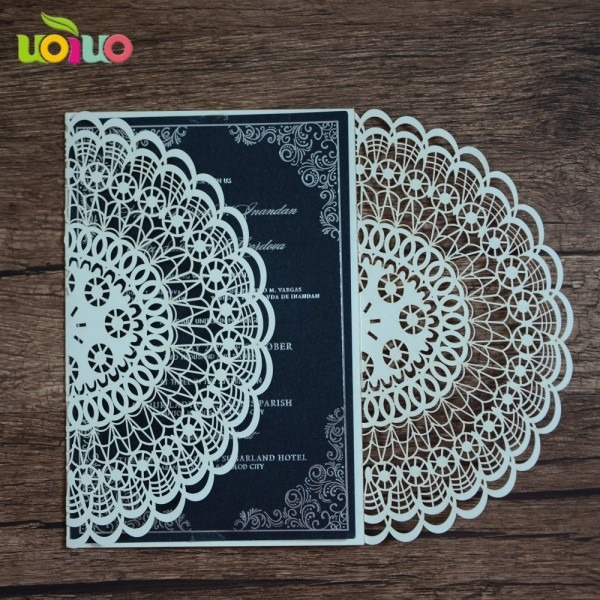 Wholesale New Design Best Price Free Logo Paper Laser Cut Baby