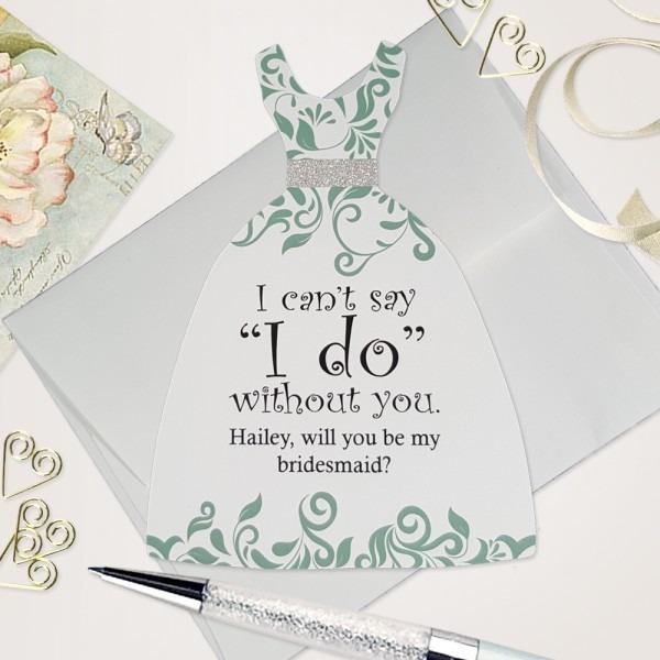 Bridesmaid Invitation Cards