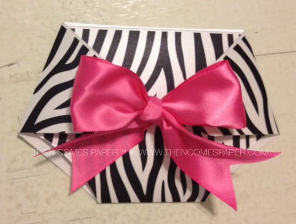 Pink And Zebra Stripe Diaper Baby Shower Invitation – First Comes