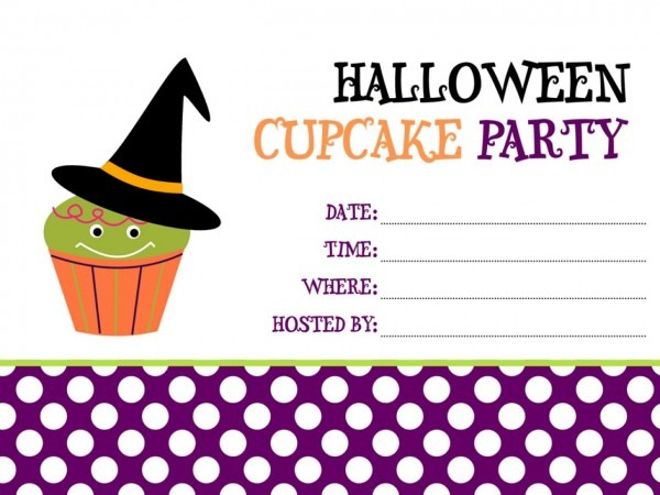 017 Free Halloween Invitations Templates Printable Template