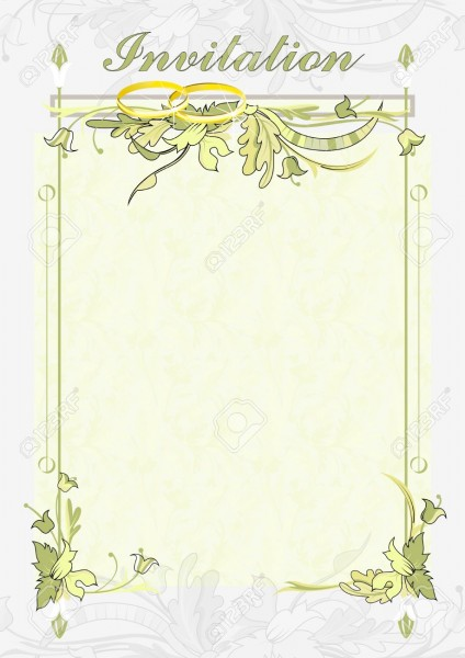 The Background For The Text Wedding Invitations  Wedding Card