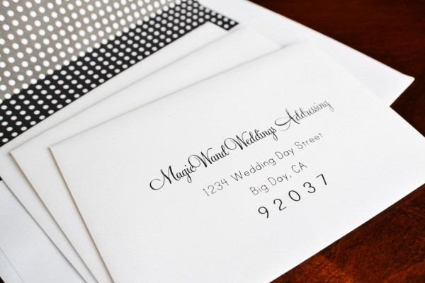 30 Address Etiquette Invitation Return Wedding