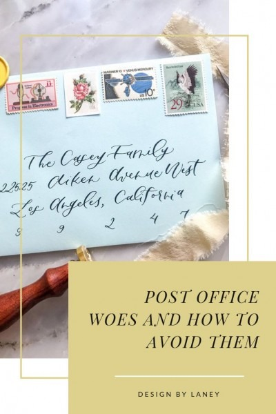 Post Office Woes And How To Avoid Them When Mailing Wedding