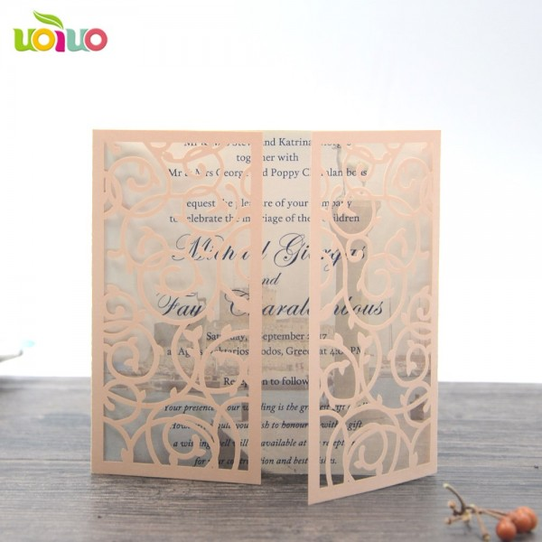 2018 New Sample Wedding Invitation Card Printing Machine Laser