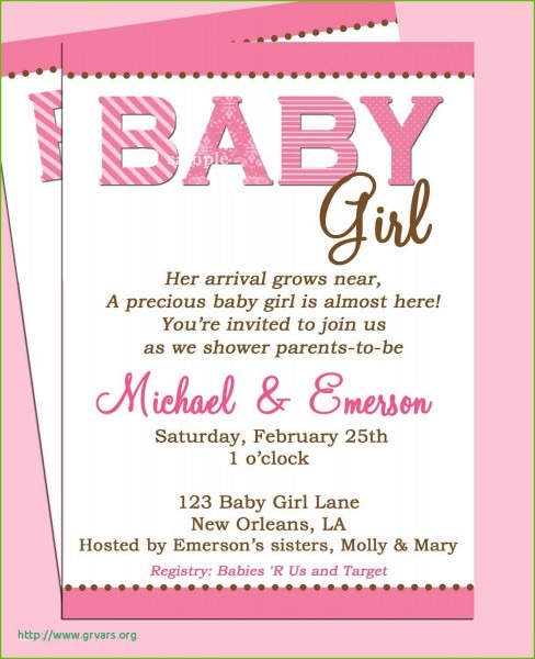 Best Baby Shower By Mail Invitation Wording