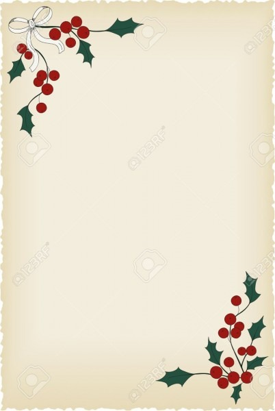 Christmas Blank Vintage Background  Perfect For Letters And