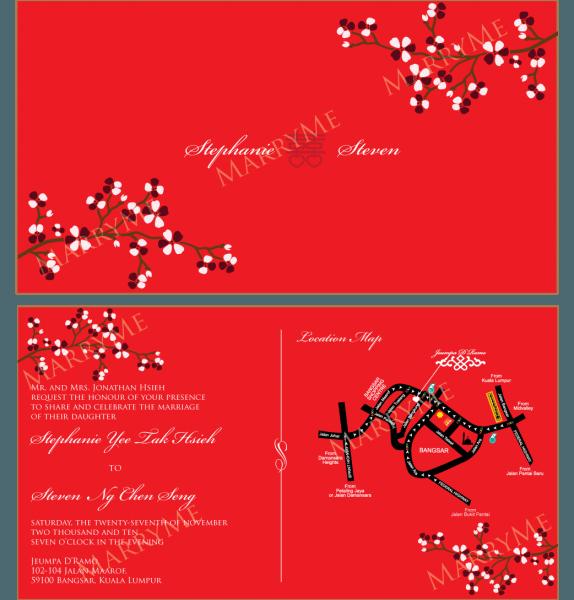 Invitation  Free Download Chinese Wedding Invitation Template