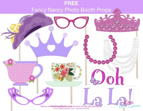 Here's A Great Fancy Nancy Birthday Party Idea! Make Memories With