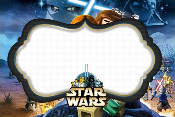 Download Now Lego Star Wars Birthday Invitations Template