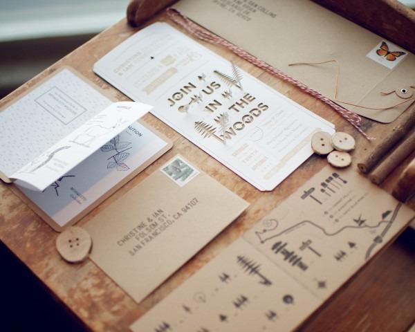 Wedding Invitation Ingredients