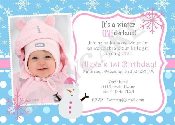 1st Birthday Party Invitation Wording Find A Variety Of Invitation