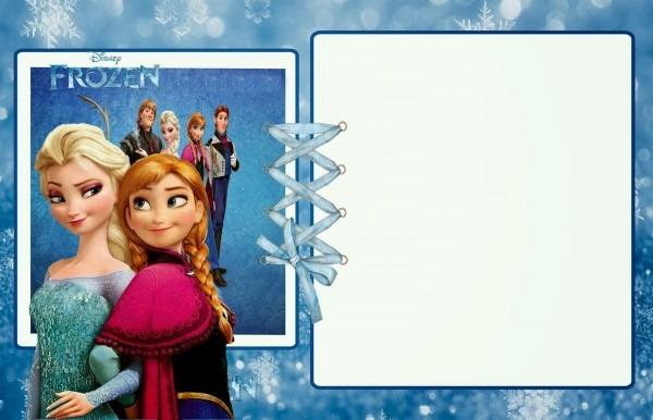 Frozen Birthday Invitations Templates Ideas