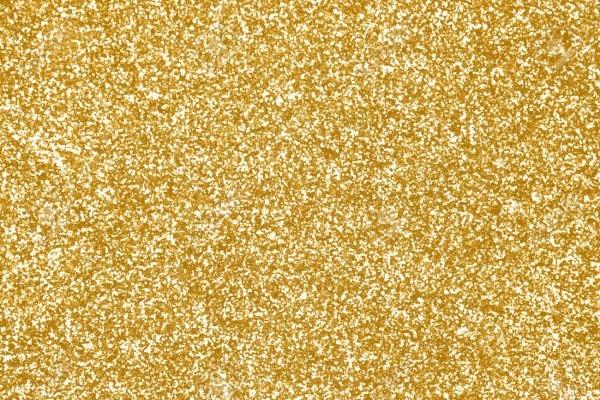 Elegant Gold Glitter Sparkle Confetti Background Or Party Invite