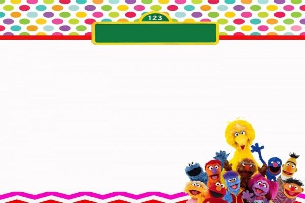 Free Sesame Street Birthday Invitations – Bagvania Free Printable