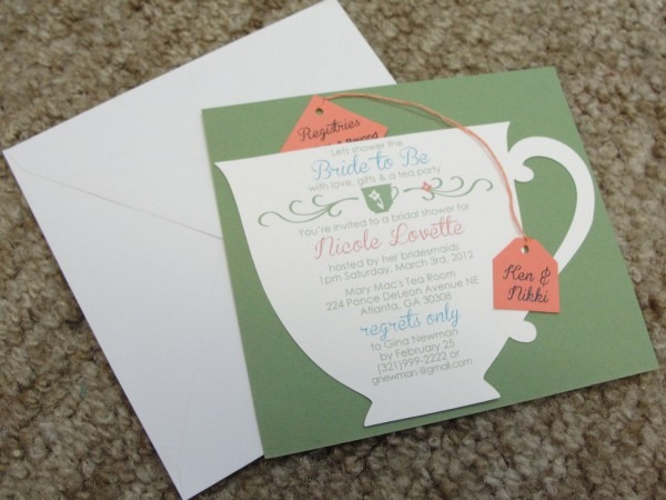 Tea Party Themed Bridal Shower Essentials And Ideas