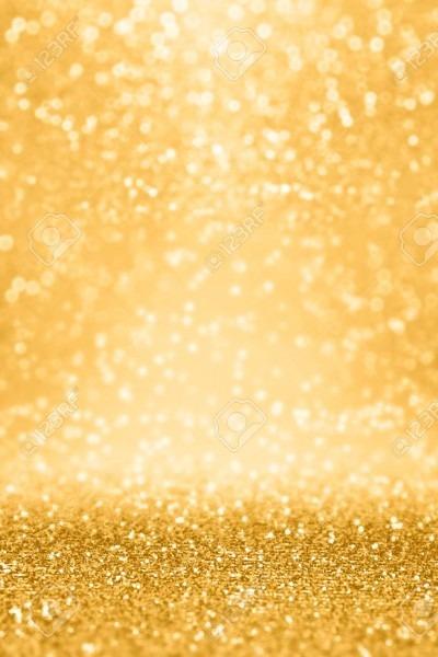Elegant Gold Glitter Sparkle Confetti Background For Golden Happy