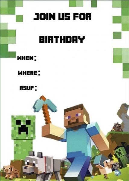 Minecraft Invite