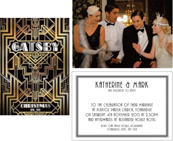 Great Gatsby Invitation Templates