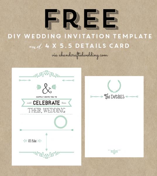 Aacabfeddb Cute Free Wedding Invitations Templates