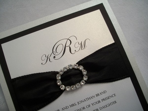 Amazing Black Wedding Invitations