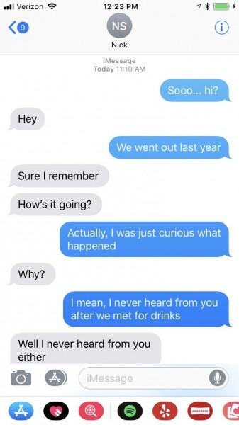 I Called Guys Out For Ghosting Me & It Was Actually Really Cathartic