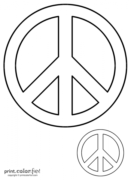 Share Tweet Pin Mail Here Are Two Peace Signs — One Little, One