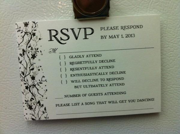 Look  Clever Rsvp Is Brutally Honest
