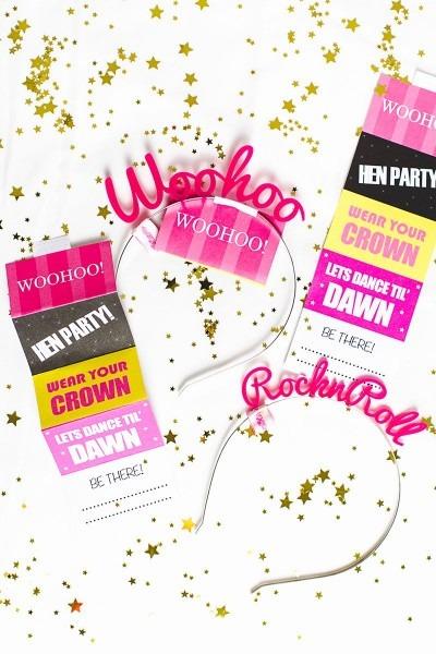 Bachelorette Party Invite Template Free Unique Free Printable Hen
