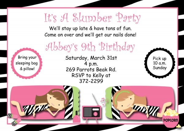Party Invitations Free