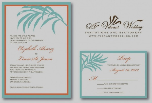 Beach Wedding Invitation Wording Invitations In Spanish Templates