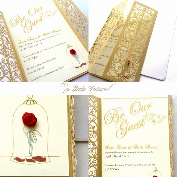 Beauty And The Beast Wedding Invitations Luxury 46 Inspirational