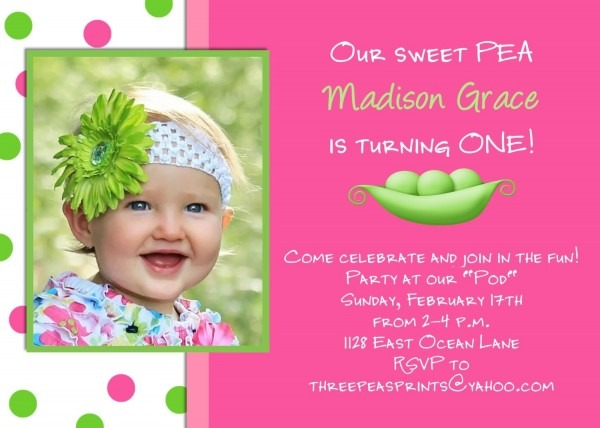 Birthday Invitation Card Design For Girls
