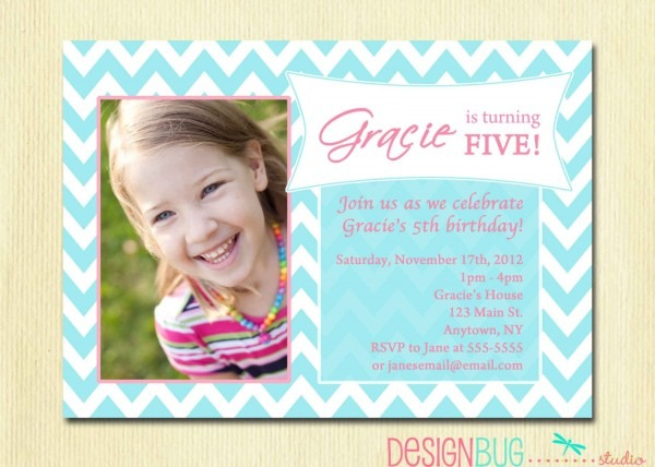 Birthday Party Invitation Wording For Year Old Il Fullxfull Hmn
