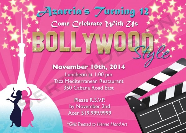 Best Invitation Wording For Bollywood Party To Create Your Own