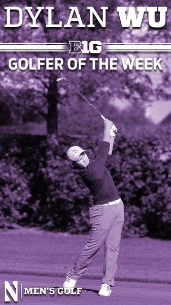 Northwestern Golf On Twitter   Dylan Wu Dominated The Redhawk